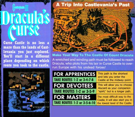 Draculas curse map
