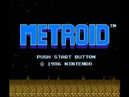 Metroid menu