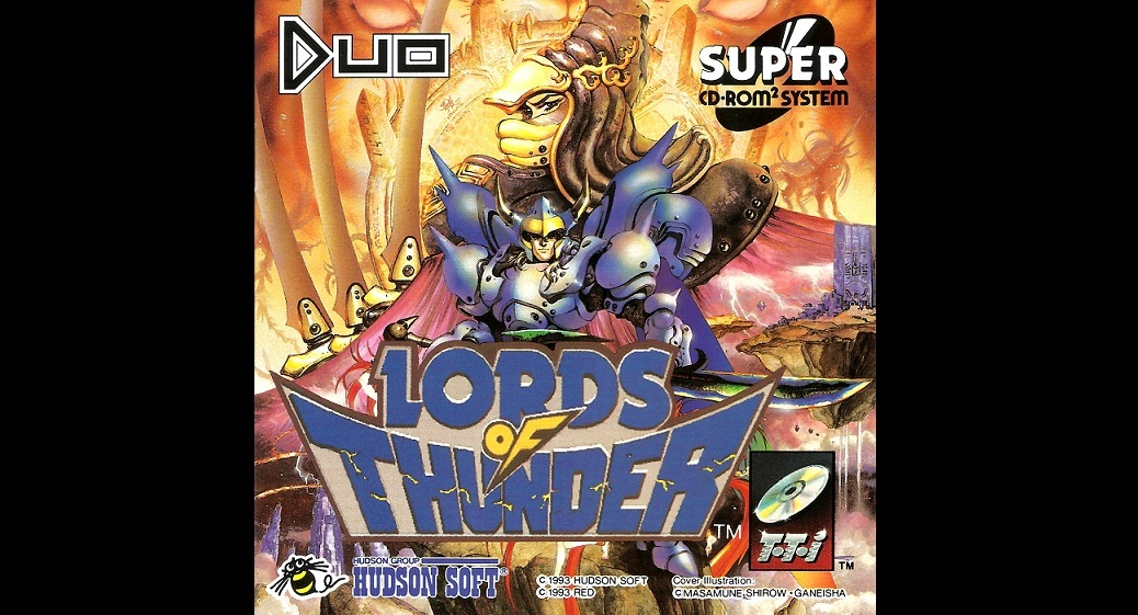Lords of Thunder (PC Engine/Turbografx 1993)   Cousin Gaming