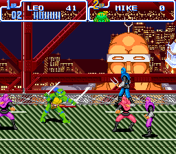 Teenage Mutant Hero Turtles IV - Turtles in Time (E)