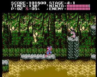Jungle stage NES